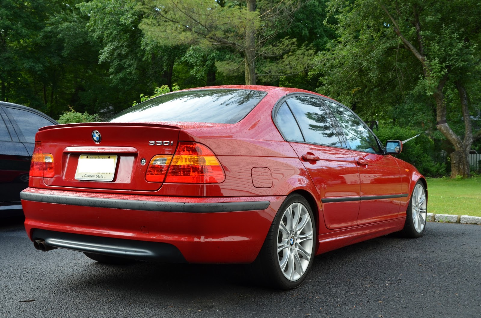 E46 2004 Imola Red 330i Zhp Nj