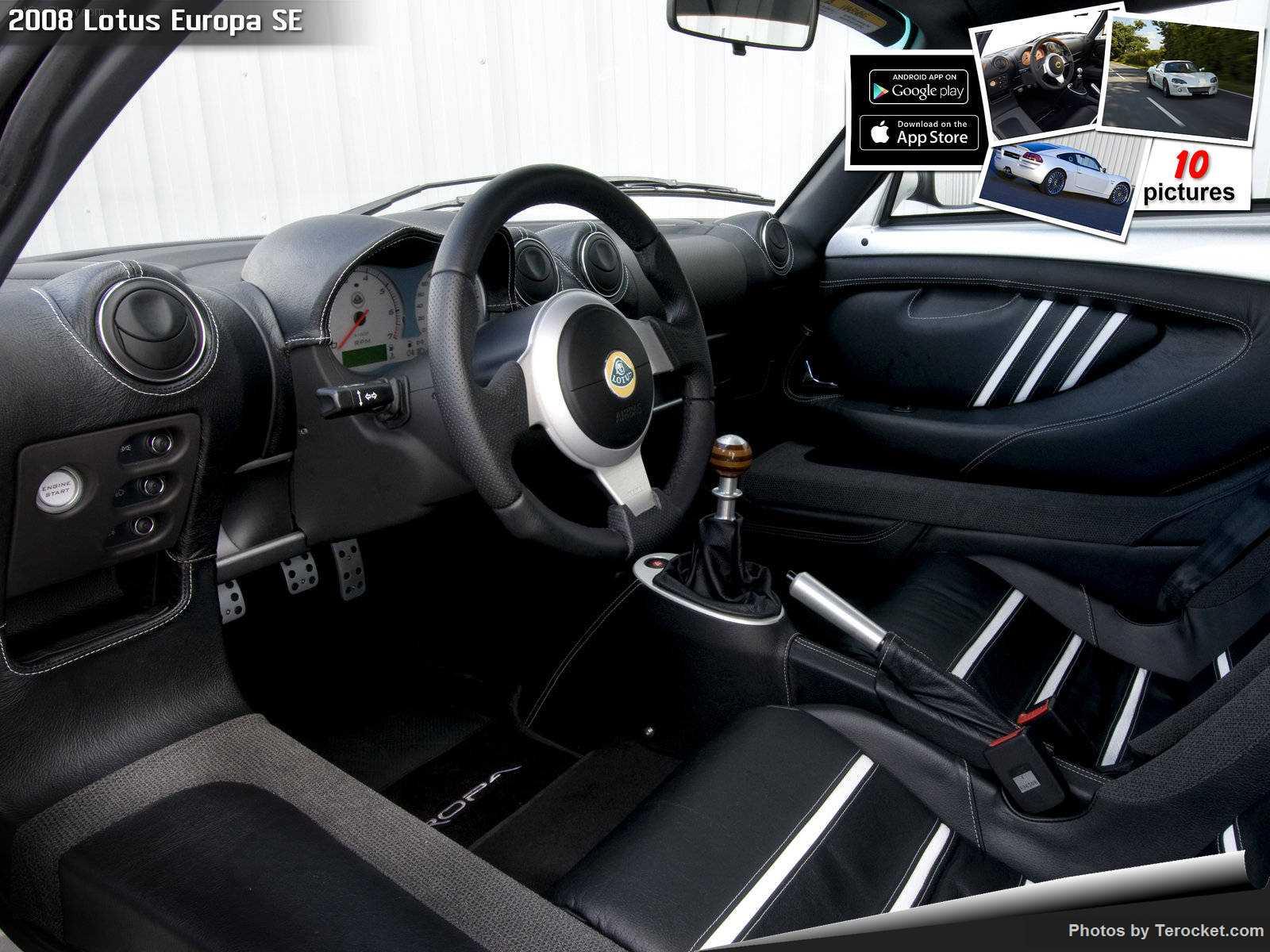 Hình ảnh siêu xe Lotus Europa SE 2008 & nội ngoại thất