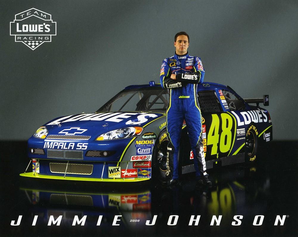 NASCAR 48 Jimmie Johnson