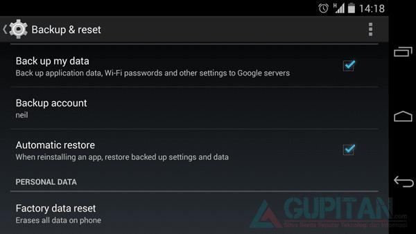 Cara Membersihkan Data di Smartphone Android 2