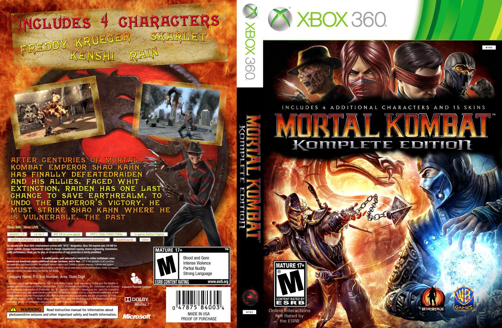 Mortal kombat komplete edition nudity adult comics