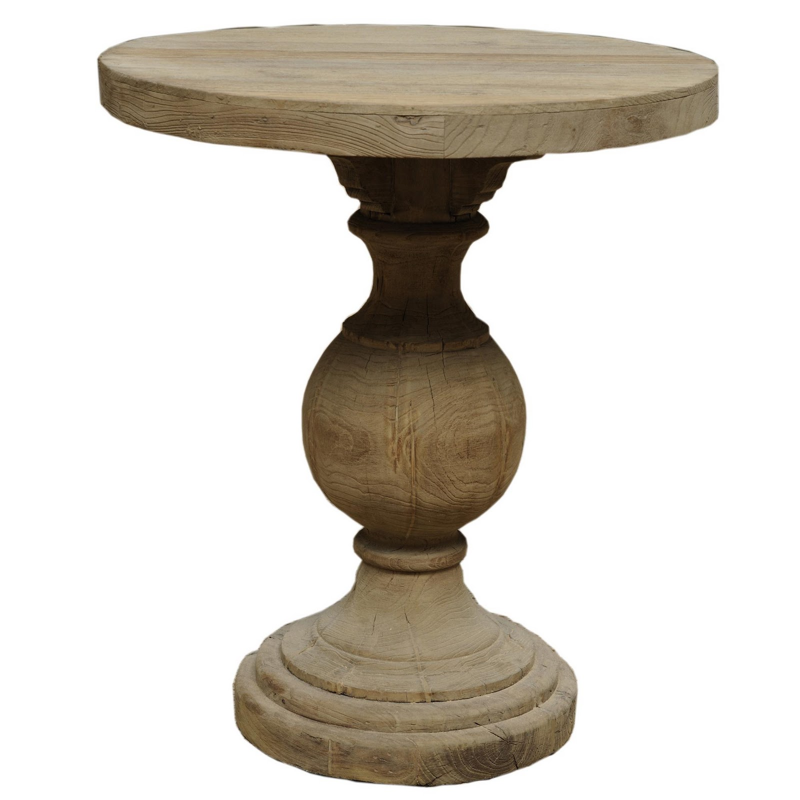 Living livelier look for less aidan gray pedestal table for Pedestal table