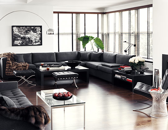 Celebrity Home Photographs by Douglas Friedman: Giorgo Armani Home 4