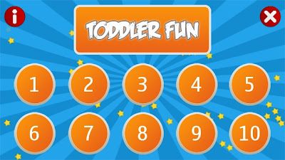 Toddler Fun helps toddlers learn counting and animal names
