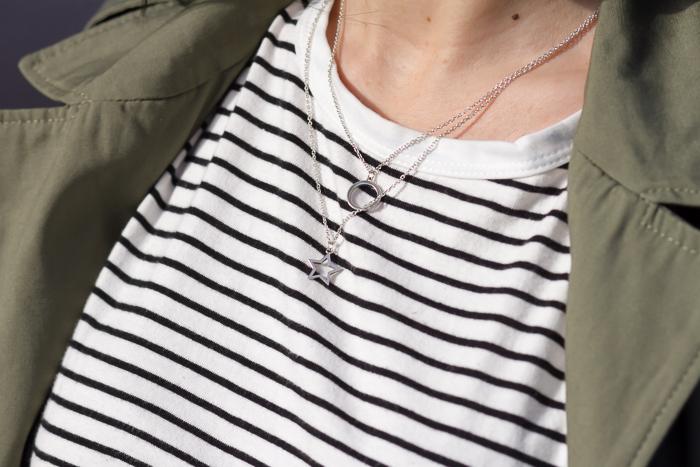 Collares cadena de plata de la marca de joyas Chavin