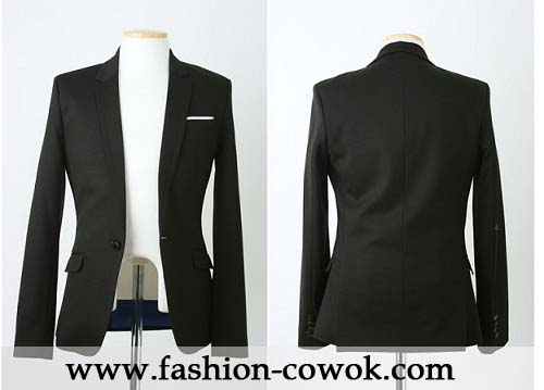 Blazer Single-Button
