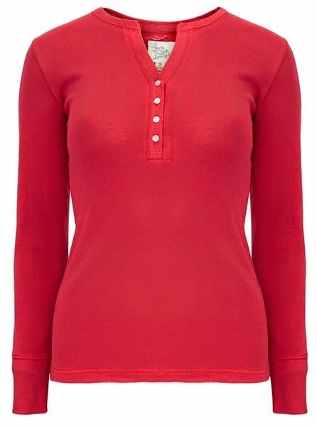 Primark ropa: top de pijama en rojo para mujer