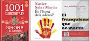 El 3 més venuts de No Ficció. Quarta setmana de juny de 2015
