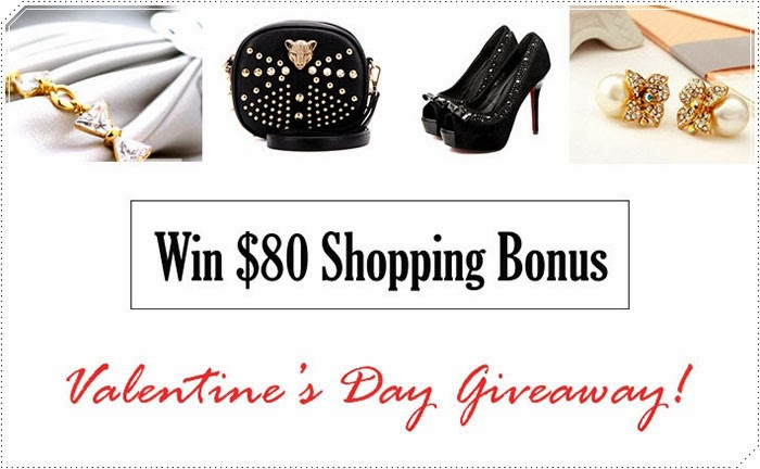 Valentine's Day International Giveaway with Jolly Chic