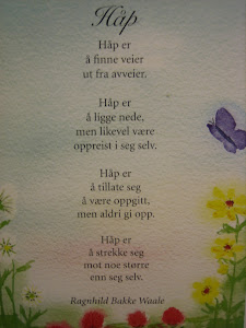 Mitt favoritt dikt: