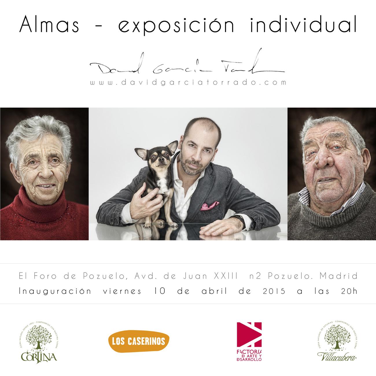 Almas, exposición individual