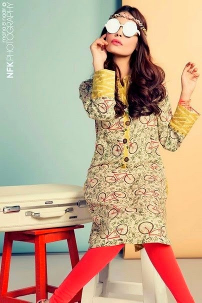 Zara Shahjahan Summer Kurti Fashion