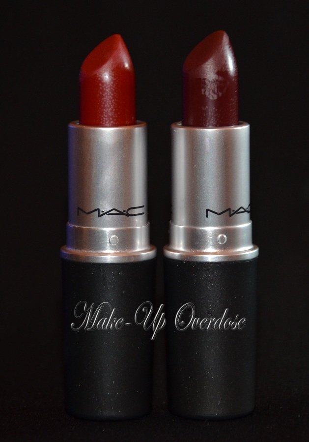 Overdose: MAC's Mac me over collection Review and Swatches Mac Lipstick Prince Noir