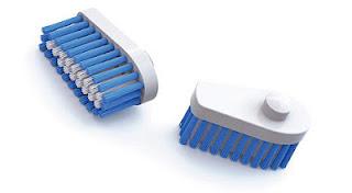 higiene dental innovadora cabezal cepillo