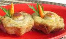 resep praktis (mudah) makanan ringan tahu sakura spesial enak, gurih, lezat