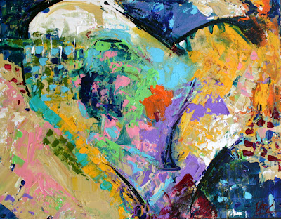 abstract paintings of love. Love Will abstract paintings