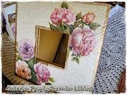Róże Pastelowe lustro