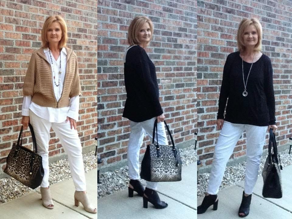TexasCajunKathy: Fashion Over 50, How to Wear White Jeans ...