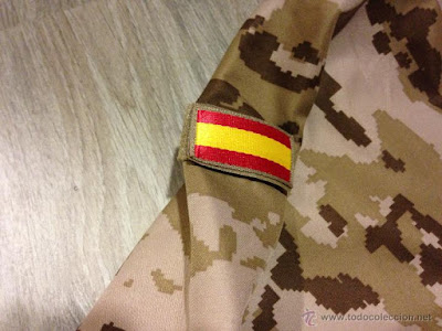 Spanish Army Desert Digital Camo Softshell Jacket
