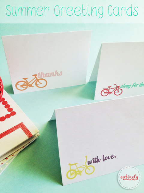 DIY Printable Summer Greeting Cards! These are so adorable!