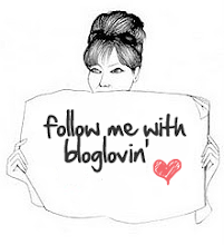 Follow me on bloglovin.