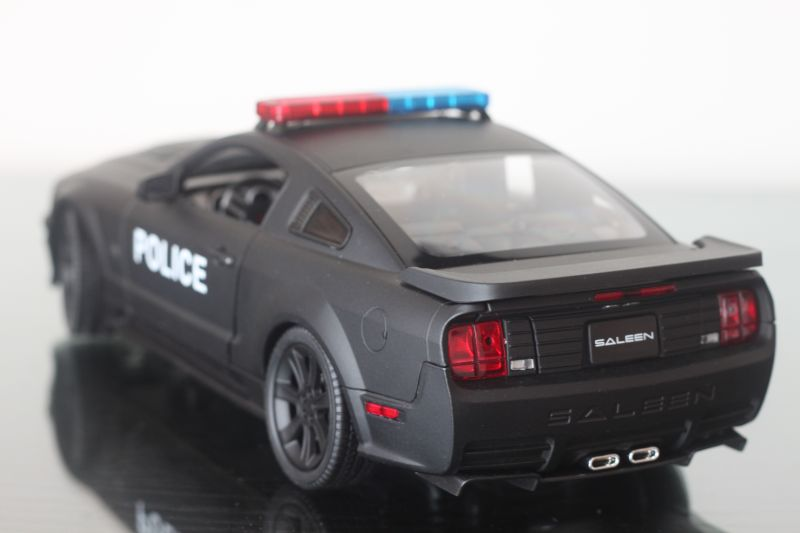 2010 Mustang For Sale >> Welly 1/18 - 2007 Saleen S281 E Mustang (Police Car)   MasterLaoDa's BLOG