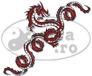 dragon tattoo / bracelet tattoo