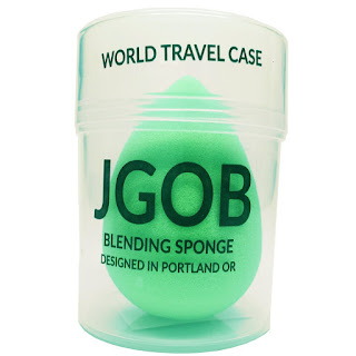 Neon Green Applicator Makeup Sponge by JGOB