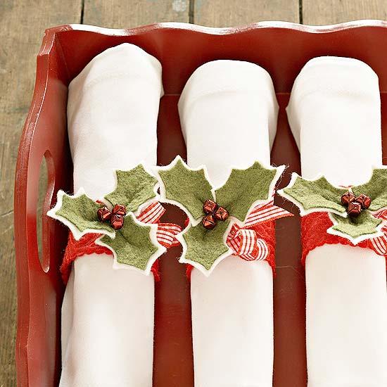 Entre barrancos cocina servilleteros para navidad - Cenas de navidad originales ...