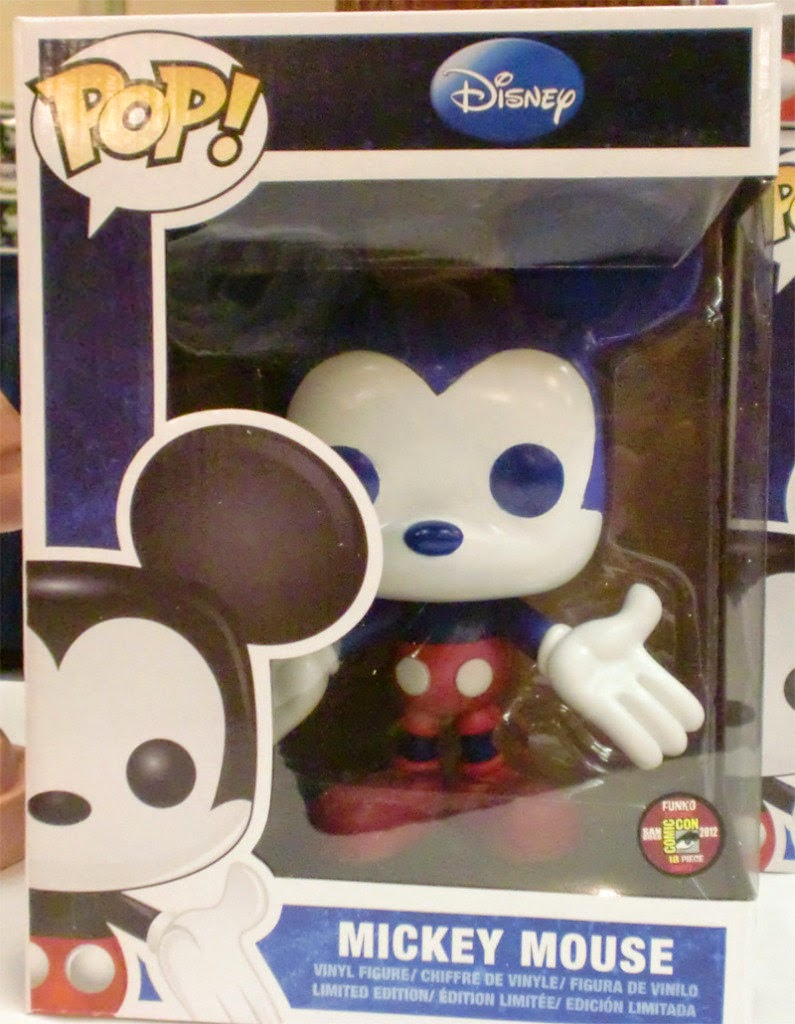 "Mickey Mouse 9"" Funko Pop! Blue/Red Colorway"