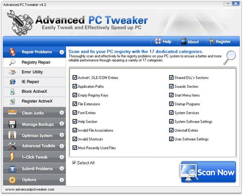 Advanced PC Tweaker 4.2 Full Serial Key | Download gratis