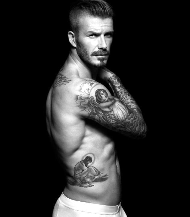 jesus tattoo beckham