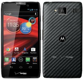 4. Motorola Droid RAZR MAX HD