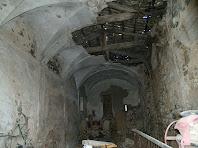 Interior de la capella de Sant Mamet