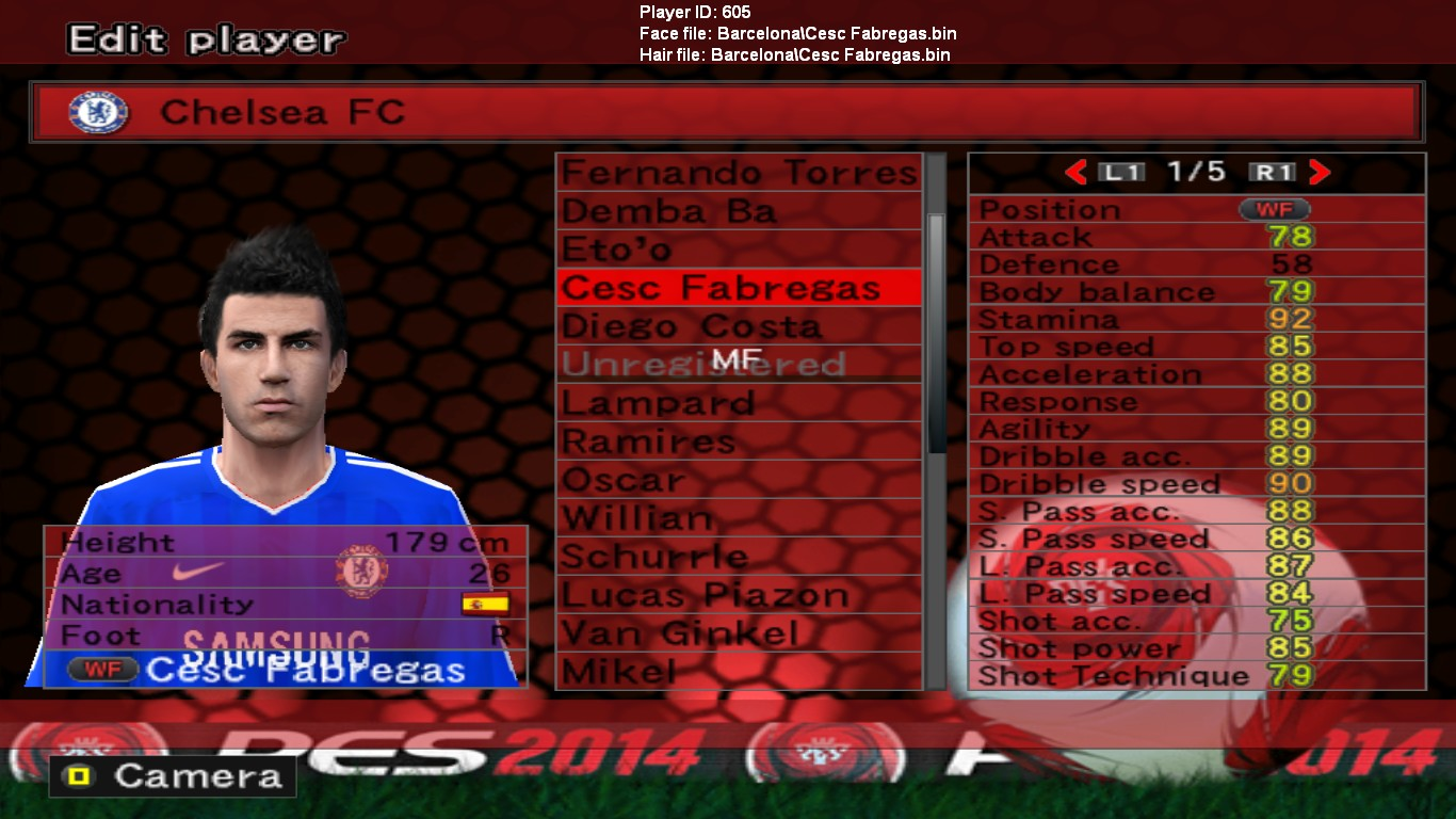 Browse » Home » PES » PES 6 update Option File season 2014/2015 ...