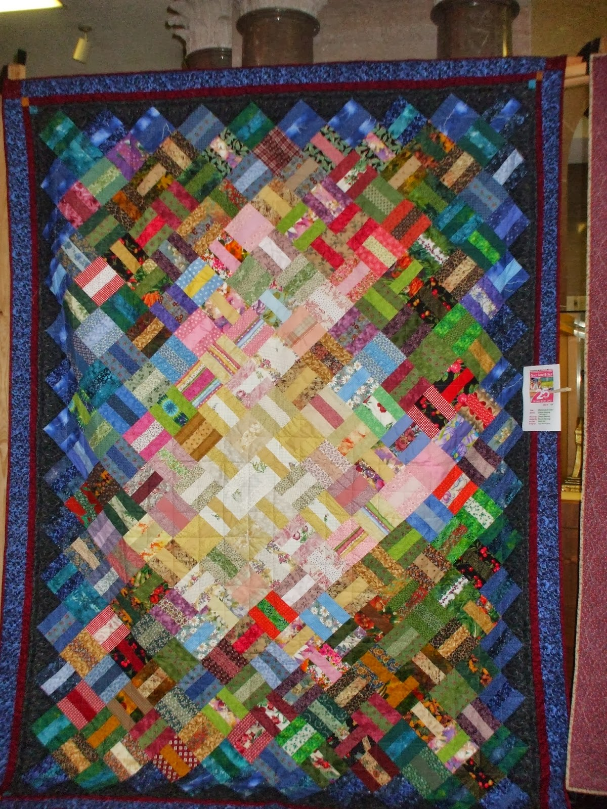 Quilts and art by cheryl stephen foster quilt show 25 years for Quilt and craft show
