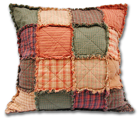 patchwork cojines