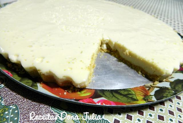 """""""Torta Mousse de Limão"""""""