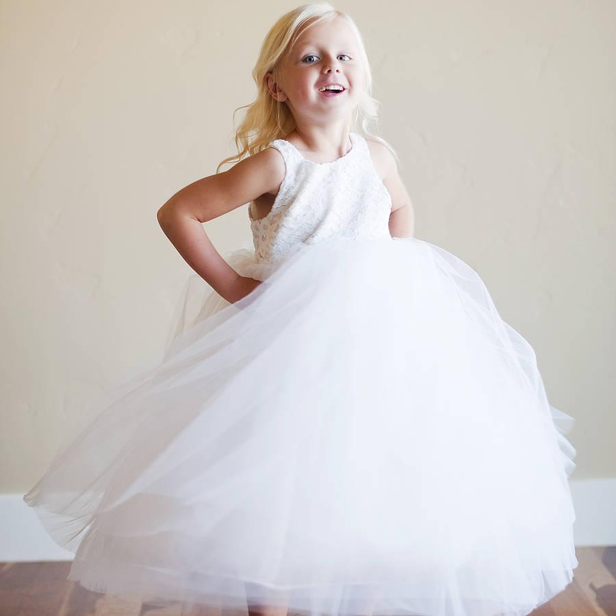 Bridal Fashion Show: Bridal Fashion Show : Seaside Flower Girl Dress