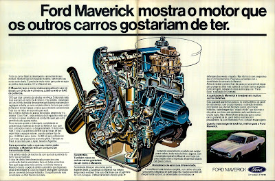 propaganda Ford Maverick - 1978