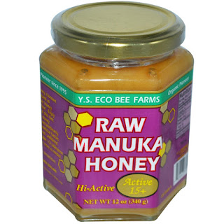 عسل غير مبستر