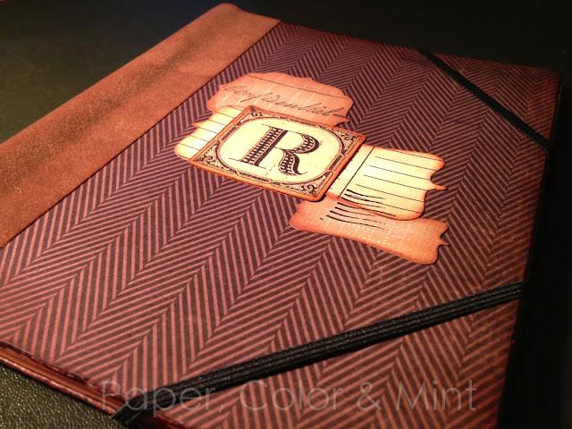 Scrap Cuaderno alterado R