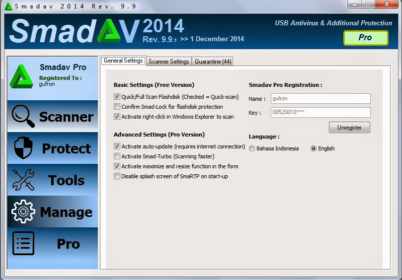 Download SMADAV Pro 9.9.1 Terbaru Full Version + Serial Number