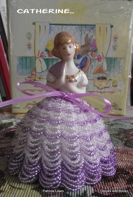 Beaded Knitting Patterns Half Dolls : Bead knitting and crochet: Catherine the half doll..