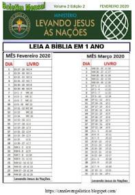 BOLETIM FEVEREIRO 2020