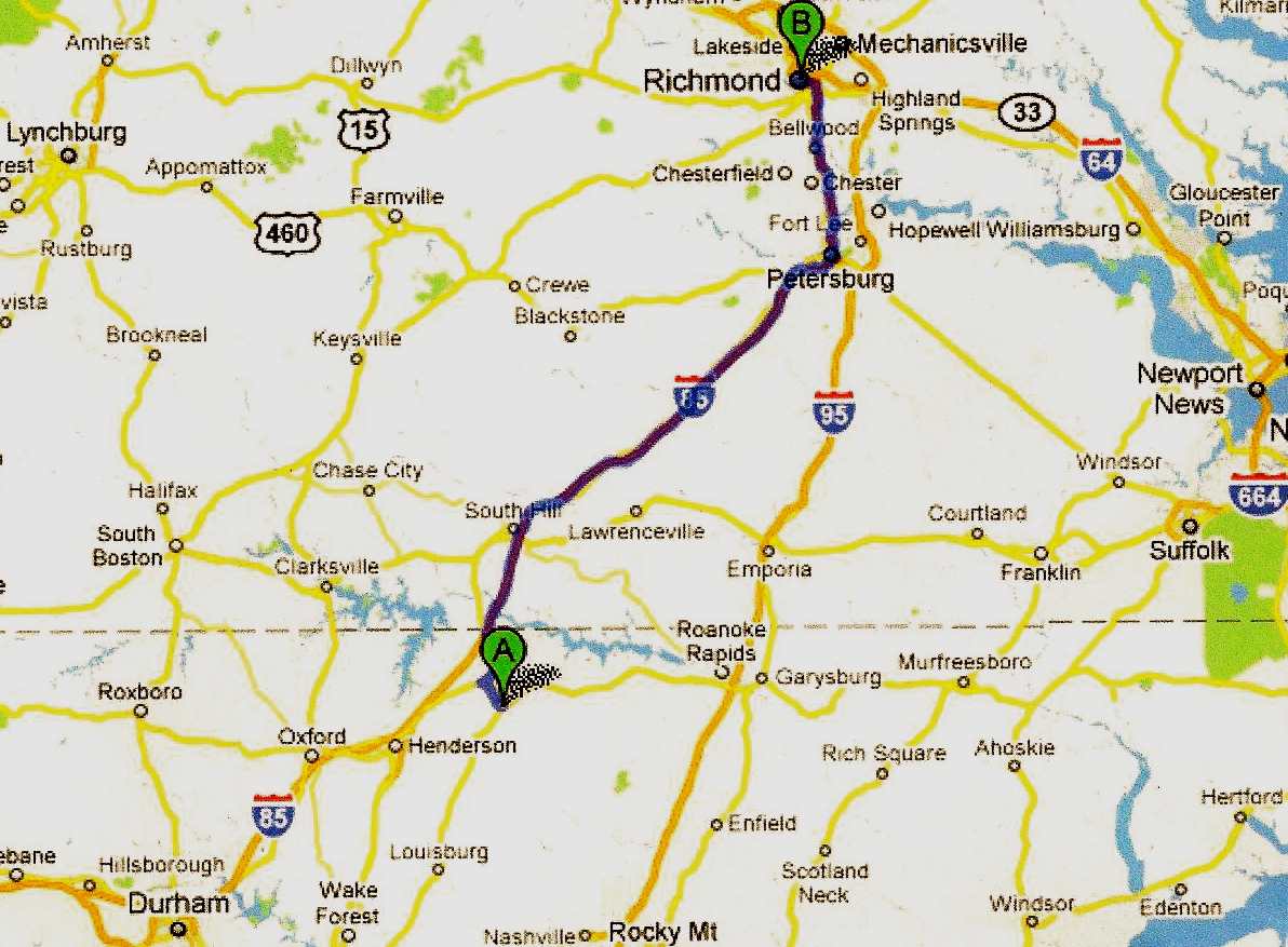 my research into the civil war and my confederate ancestors now takes me from warrenton n c to richmond