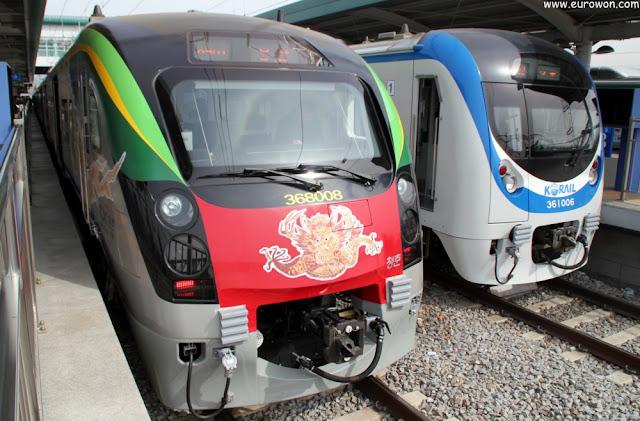 Trenes ITX de la línea Gyeongchun a Chuncheon