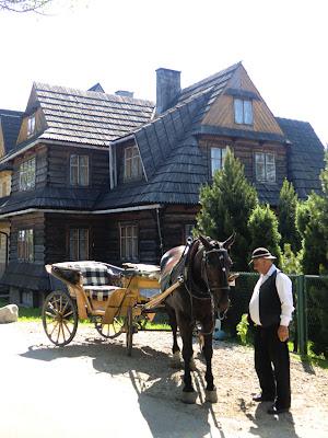 Coche de caballos en Gubałówka, Zakopane
