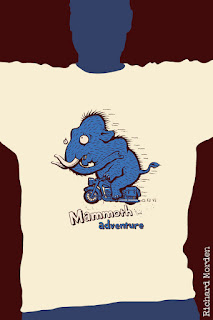 Mammoth adventure tshirt