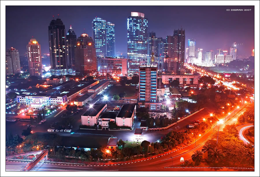 Indonesia City Capital City of Indonesia